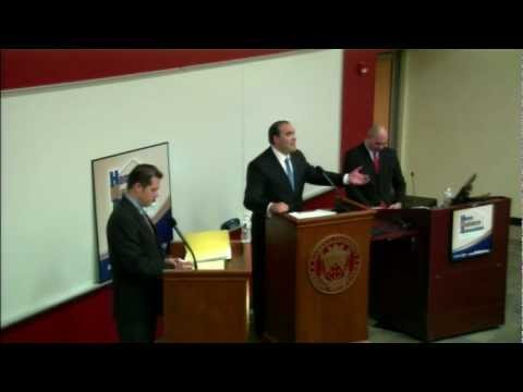 Property Tax Elimination - Cox vs. Saar Debate - PA House of Reps 129th District - 23 Oct 12