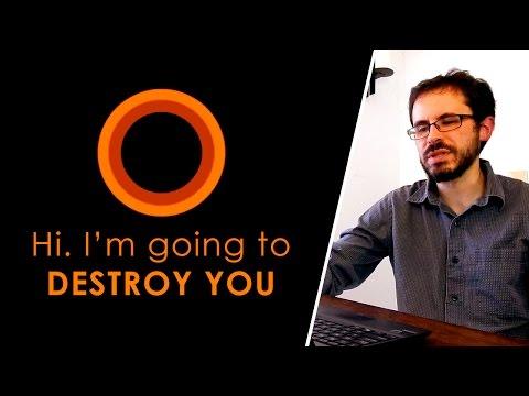 How to PISS OFF Cortana (Microsoft Windows 10)