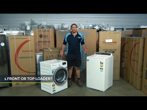 guide to buying washing machine