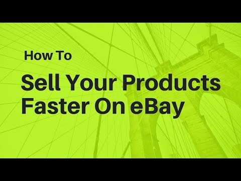How to Sell Your Items on eBay Fast When You Are Dropshipping 🏃