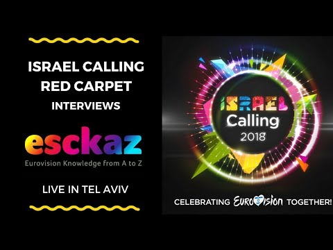 ESCKAZ live in Tel Aviv: Red Carpet interviews