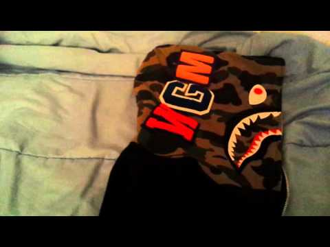32780aa0b9ee Bape Shark Hoodie Unboxing from Happyjagabee with Legit Check Guide