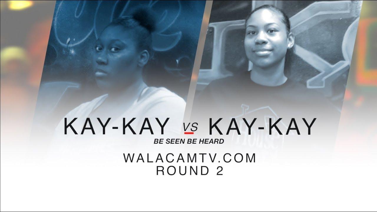 WALACAMTV ITS ON!!! ''HIP ROLL BATTLE'' KAY KAY VS KAY KAY ROUND 2 @ FINAL PHAZE DA WARZONE