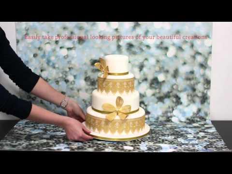 Bakedrops: Vinyl Photography Backdrops for Cakes