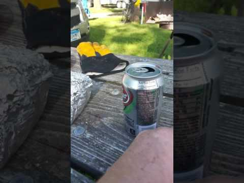 Camping Hack Keeping bugs out of pop or beer