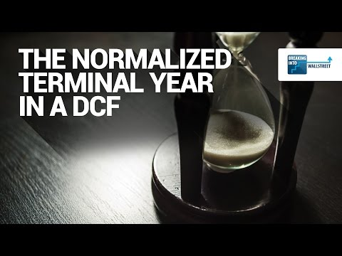 The Normalized Terminal Year in a DCF