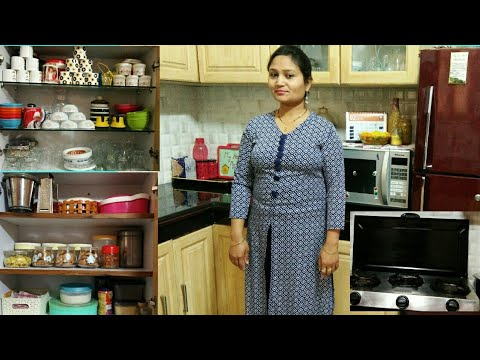 How to organise indian kitchen, kitchen tour part 2,anvesha,s creativity