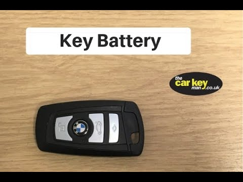 Key Battery BMW HOW TO Change