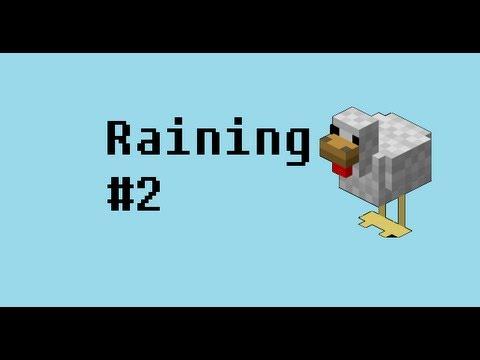 HOW TO MAKE IT RAIN CHICKENS! Minecraft PE Tutorials #2