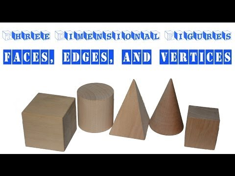Learning about Faces, Edges, and Vertices - Three Dimensional Figures