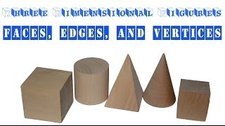Download Learning about Faces, Edges, and Vertices - Three Dimensional Figures