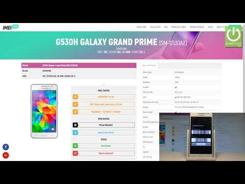 How to Check Warranty in SAMSUNG Galaxy Grand Prime - Country & Carrier Info