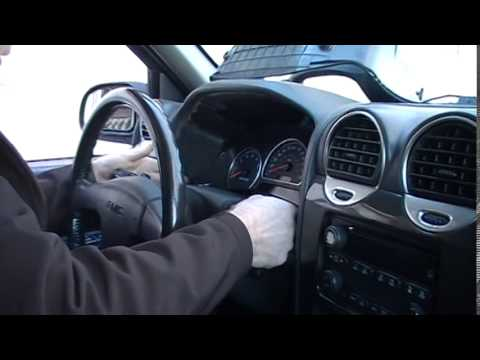 GMC Envoy Instrument Cluster Removal Procedure by Cluster Fix