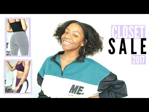 End of Year CLOSET CLEAR OUT SALE // Shop My Closet for Cheap | T'keyah B