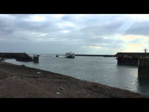 Condor Liberation arriving into Jersey for the first time. 21st March 2015.