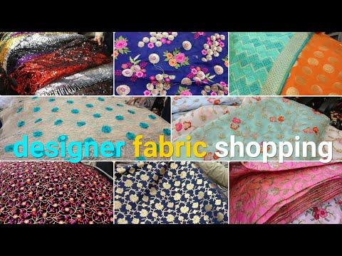 designer fabric at cheap price | CHEAPEST FABRIC MARKET | saree kurti lehenga cloth | urban hill