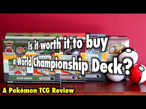 PKMTCG - Is it worth it to buy a Pokémon World Championship Deck?