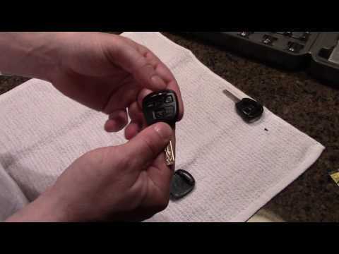 How to Replace Key Chip Module in Lexus RX 330 - And obtain new or spare keyless entry Key