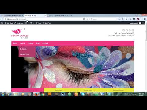Html to WordPress  - Part 8  - Creating Single Post Page - single.php