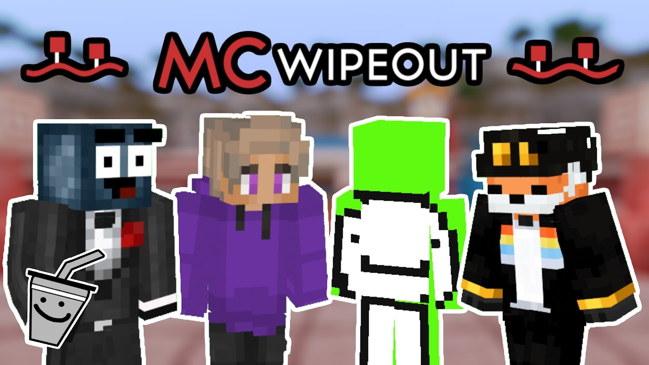 $1000 YouTuber Minecraft Wipeout ft. Dream, Skeppy, Fundy, TapL, & More (Season 1 Episode 1)