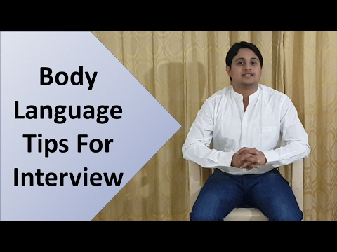 Body Language Tips For Interview In Hindi