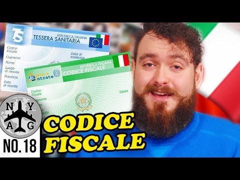 Italian Fiscal Code (Codice Fiscale) - How to get one / Overview