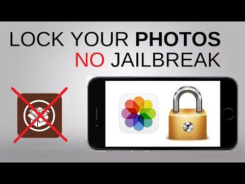 Lock Your Photos - No Jailbreak