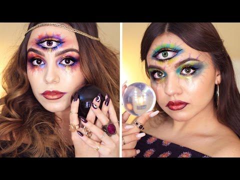 Third Eye Fortune Teller Halloween Tutorial ♡