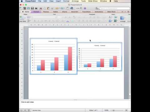How to Size and Align Graphs Equally in PowerPoint Automatically