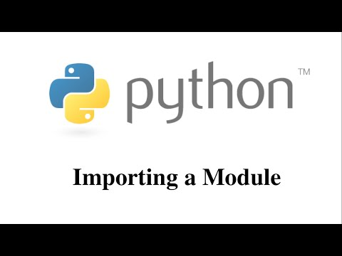 Importing Module in Python [HD 1080p]