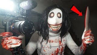 JEFF THE KILLER TOOK MY CAMERA AND RECORDED ME!! (SCARY)