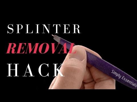 Tweezers | Splinter Removal with Tweezers | Simply Essentials