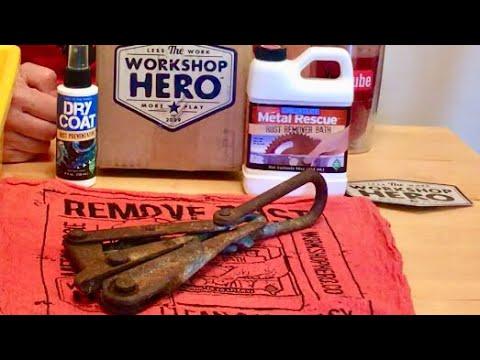 Workshop Hero Metal Rescue Rust Remover Test