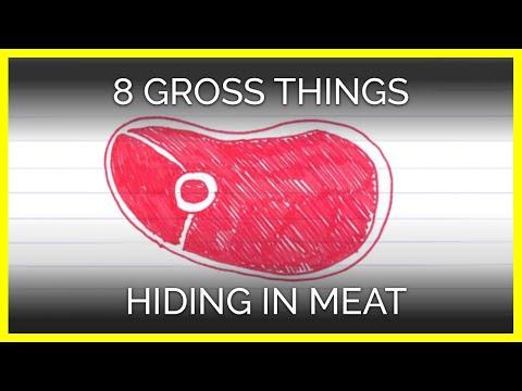 8 Gross Things Hiding in Meat