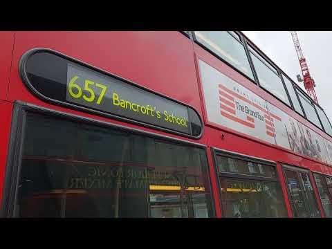 Blind change on Arriva London T223 (LJ61CFO)