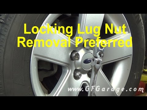 How To Remove A Locking Wheel Nut