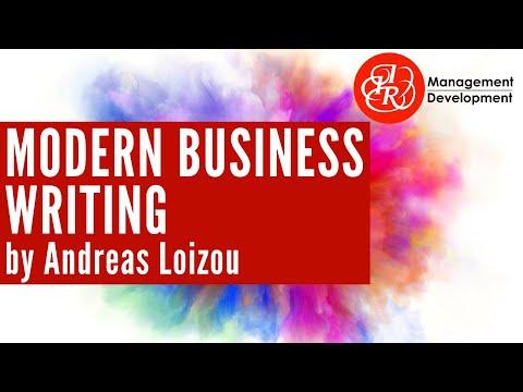 Modern Business Writing Introduction & Module 1