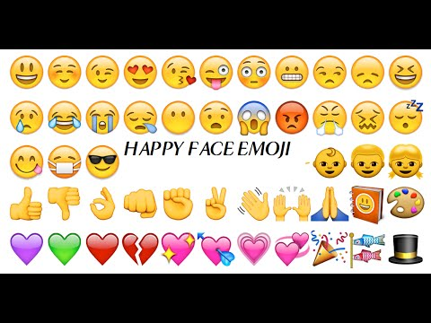 How to Make the Happy Face Emoji!!!