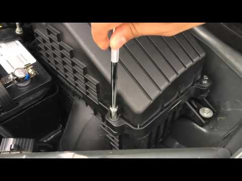 2005-2010 Honda Odyssey Engine Air Filter Change