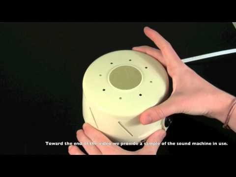 White noise 980a sound machine