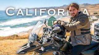 Exploring California by Motorcycle | LA to Big Sur Moto Camping (Day 2)