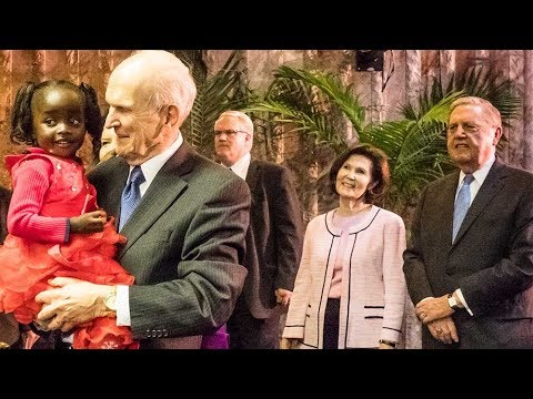 President Nelson Completes Africa Tour in Zimbabwe