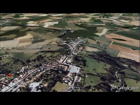 Gent Wevelgem Google Earth fly over