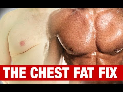 How To Get Rid Of Man Boobs Chest Fat Fix