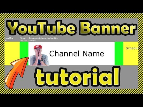 How to Make YouTube Channel Art 🖌 - Custom YouTube Banner Tutorial