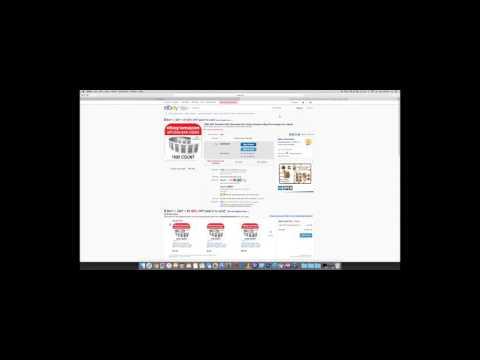 Using UPC codes from eBay for Amazon Seller Central (UPC, EAN, ISBN)