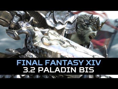 FFXIV: 3.2 - Paladin Tentative BIS Set
