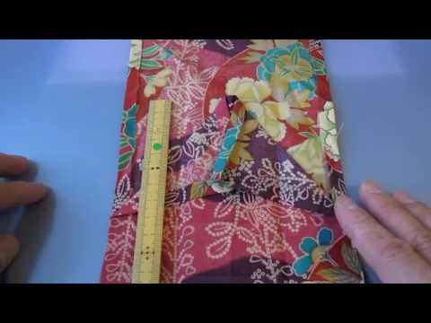 Origami Kimono with Japanese Fabric (Not Paper)