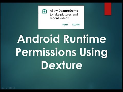 Android Runtime Permissions using Dexter