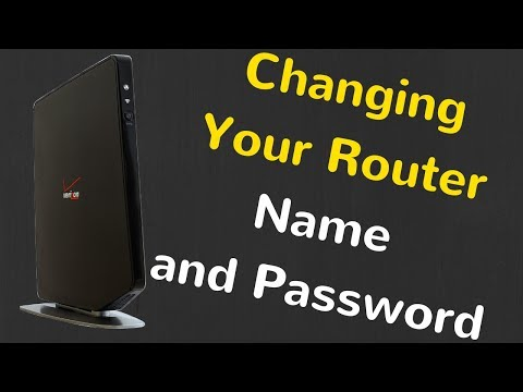 How to Change Network Name and Password on your  Verizon Quantum Router